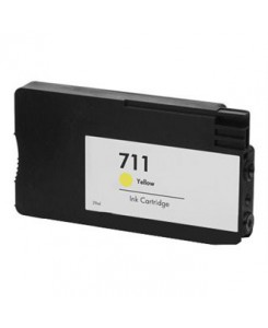 cartouche compatible HP711XL YELLOW