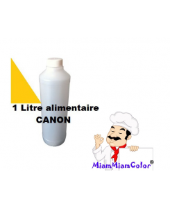 ENCRE ALIMENTAIRE 1L YELLOW