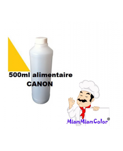 ENCRE ALIMENTAIRE 500ML YELLOW