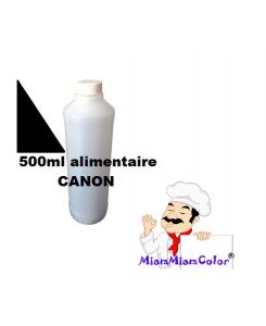 ENCRE ALIMENTAIRE 500ML NOIR