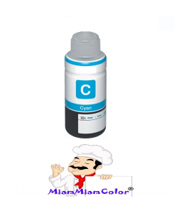 ENCRE ALIMENTAIRE HP 1L CYAN