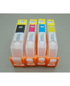 CARTOUCHES RECHARGEABLES HP364