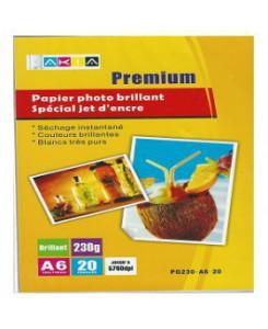 PAPIER PHOTO A6 -20 FEUILLES -170GR