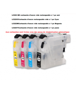 CARTOUCHES RECHARGEABLES BROTHER LC223/225/227