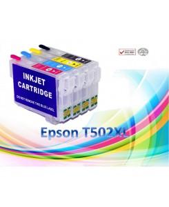 CARTOUCHES RECHARGEABLES EPSON T502XL