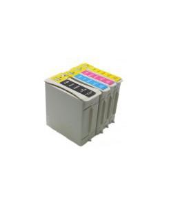 Pack de 4 cartouches équivalente HP 88BK/C/M/Y