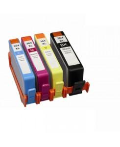 Pack de 4 cartouches HP 364BK/C/M/Y