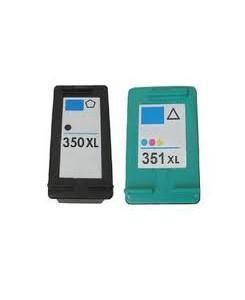 Pack de 2 cartouches HP 350XL/351XL