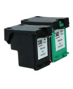 Pack de 2 cartouches HP 336XL/342XL