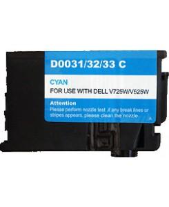 Cartouche equivalente Cyan Dell V525W