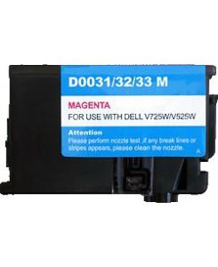 Cartouche equivalente Magenta Dell V525W