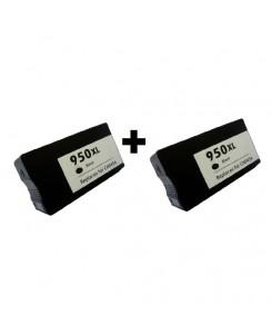 PACK DE 2 HP 950XL BLACK