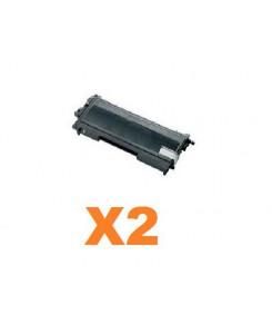 PACK DE 2 TONERS TN2120 BLACK
