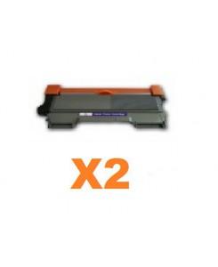 PACK DE 2 TONERS TN2220 BLACK