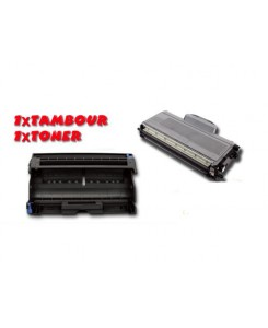 KIT TONER + TAMBOUR DR2200 BROTHER