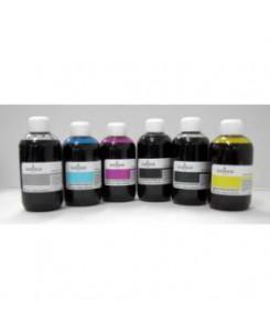 Kit flacons 6x100 ml encre compatible pour cartouches Canon PGI550/ CLI551