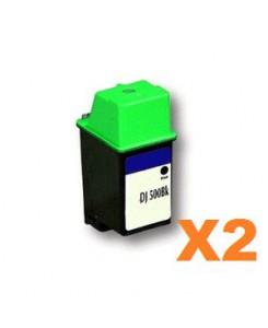 LOT DE 2 Cartouche d'encre pour Alcatel 3740/3745