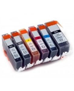 PACK DE 6 CARTOUCHES PGI-550XL/CLI-551XL