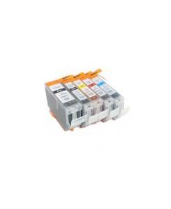Pack 5 cartouches génériques pour CANON BCI-3e
