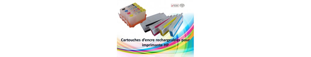 cartouches rechargeables HP,encre imprimante hp,recharge hp364