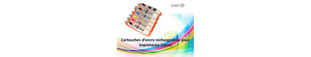 cartouches rechargeables Canon,remplir cartouches canon,recharger canon