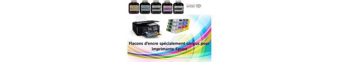 flacons d'encre cartouches Epson,kit de recharge cartouches epson