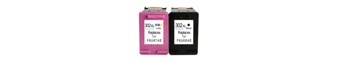 cartouche d'encre HP302xl,cartouches d'imprimante HP302 noir,HP302XL