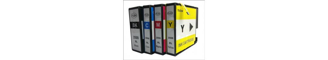 cartouches d'encre canon pgi 2500xl , cartouches pour canon Maxify