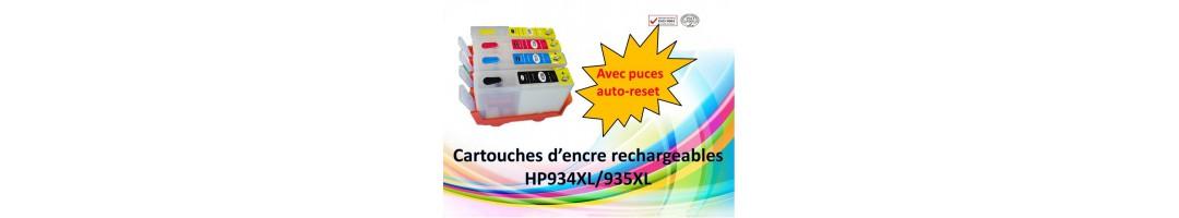 cartouche encre rechargeables HP934XL,cartouche rechargeables HP pro6230