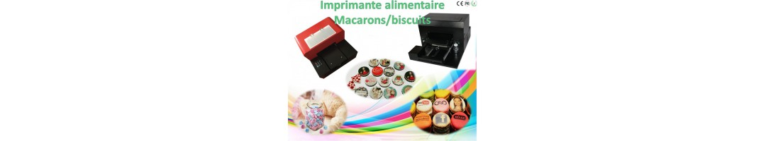 imprimante alimentaire macarons,imprimante biscuits,imprimante gâteau