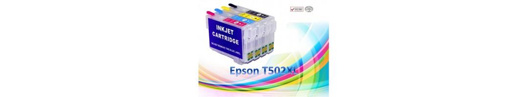 cartouches rechargeables Epson T502xl , cartouches epson T502XL