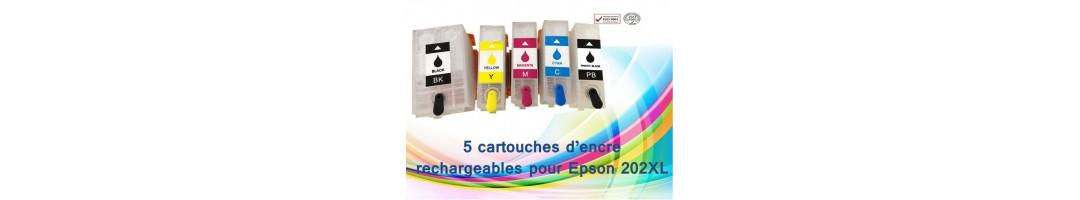 cartouches rechargeables Epson T202xl , cartouches epson T202XL