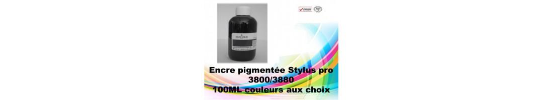 encre pigmentée stylus pro3800,flacons encre epson stylus pro